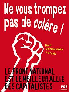 La baudruche Le Pen en voie d'explosion Affiche-Anti-FN