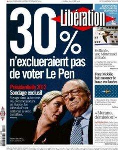 Sondages : ne pas tomber dans le panneau des manipulations en faveur du national-capitalisme dans France Une-Liberation-faute-orthographe-237x300