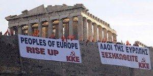 Les rapaces de l'UE ramènent la Grèce au Moyen Age dans Austerite acropoli_kke-300x150
