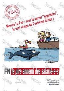 Le Programme du Front National : diviser les travailleurs et le peuple pour mieux servir les riches dans F-Haine FN-VISA-anti-fascisme-aff2-211x300