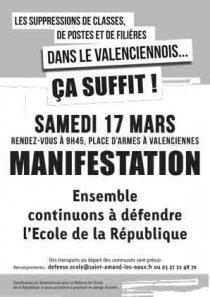 Suppressions de classes dans le Valenciennois, ça suffit ! dans Education nationale arton2342-ddb69