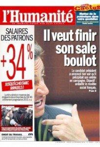 Il en veut encore pour cinq ans pour finir son sale boulot ! dans POLITIQUE une_sarko-205x300