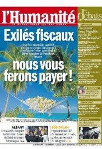L'évasion fiscale, c'est déjà aujourd'hui ! dans Fraude fiscale 2012-03-09une-huma-205x300