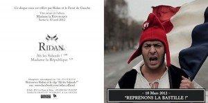« Ah les salauds ! » : le clip officiel de Ridan dans Front de Gauche Ridan-Cover1-300x149