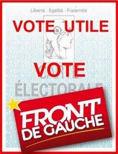 Présidentielles 2012 : la gauche doit gagner le 6 mai en penchant franchement à gauche le 22 avril dans Front de Gauche Vote-utile-vote-front-de-gauche-230x300
