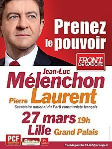 Jean-Luc Mélenchon et Pierre Laurent à Lille le 27 mars  dans Front de Gauche affiche-Meeting27mars-sanstrait-1