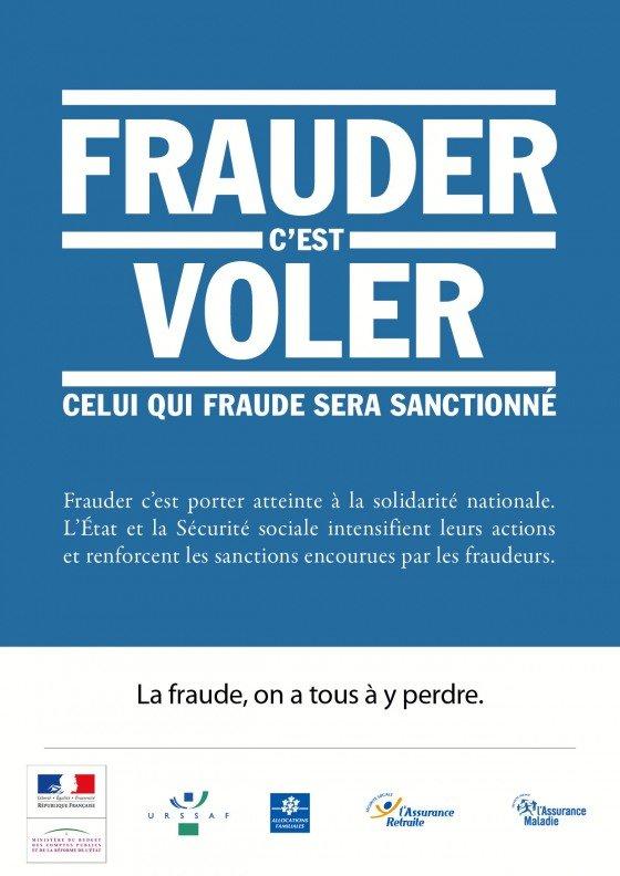 Fraude : on stigmatise les pauvres alors que l'essentiel de la fraude est liée à l'évasion fiscale : plus de 40 milliards chaque année ! dans Fraude fiscale affiche_campagne_fraudes2011