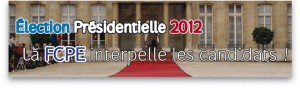 La FCPE interpelle les candidats ! dans Education nationale bandeau-300x88