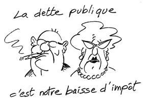 caricature-dette-riches médias dans POLITIQUE