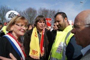 Rassemblement à Aulnay pour sauver l'emploi industriel dans CGT dsc00777-300x200