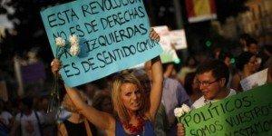 L'Espagne paralysée par la grève générale contre l'austérité et contre la réforme du droit du travail dans Austerite espagne-manifestation-300x150