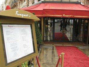Chômeurs arrêtés au Fouquet's :
