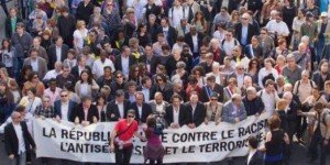 Paris : Une marche pour le