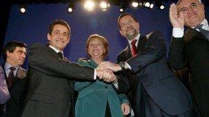 Nouveau traité européen : les magouilles d'Angela Merkel et de ses amis conservateurs dans Allemagne rajoy-traslada-merkel-sarkozy-compromiso_-300x168