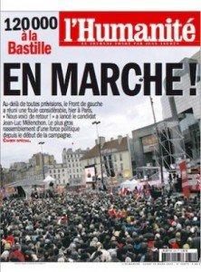 Spécial Marche du 18 mars dans L'Humanité de ce lundi 19 mars dans POLITIQUE une_7-222x300