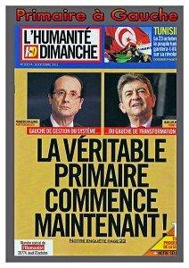 Primaire à Gauche : Dans 16 jours, le peuple de gauche tranchera, dans les urnes ! dans F. Hollande 120406Primaire-Gauche-Huma--212x300