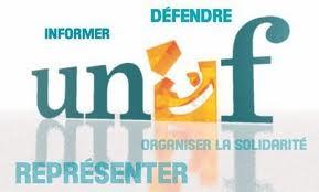 Communiqué de l'UNEF :