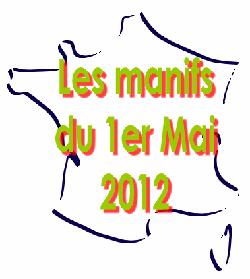 carte_france_1_mai_2012-f5f69 1er mai dans Luttes
