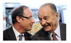 Pour Chirac c'est Hollande… Donc pour la gauche c'est Mélenchon ! dans F. Hollande hollandechirac-5a79c