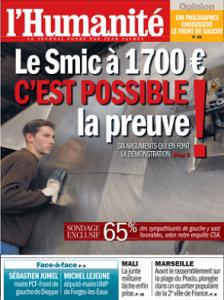 Le SMIC à 1700 euros, c'est possible ! La preuve mardi dans l'Humanité dans ECONOMIE huma_0-224x300