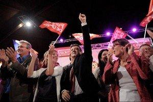 Le candidat de gauche le plus efficace pour battre N. Sarkozy, c'est J.L.Mélenchon pas F. Hollande.  dans Front de Gauche melenchon_2012_meeting-300x200