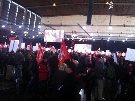 Plus de 60 000 militants et sympathisants Porte de Versailles (2) dans Front de Gauche photo12_0