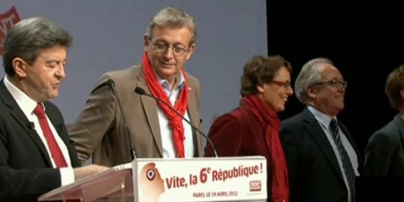 Plus de 60 000 militants et sympathisants Porte de Versailles (1) dans Front de Gauche photo16
