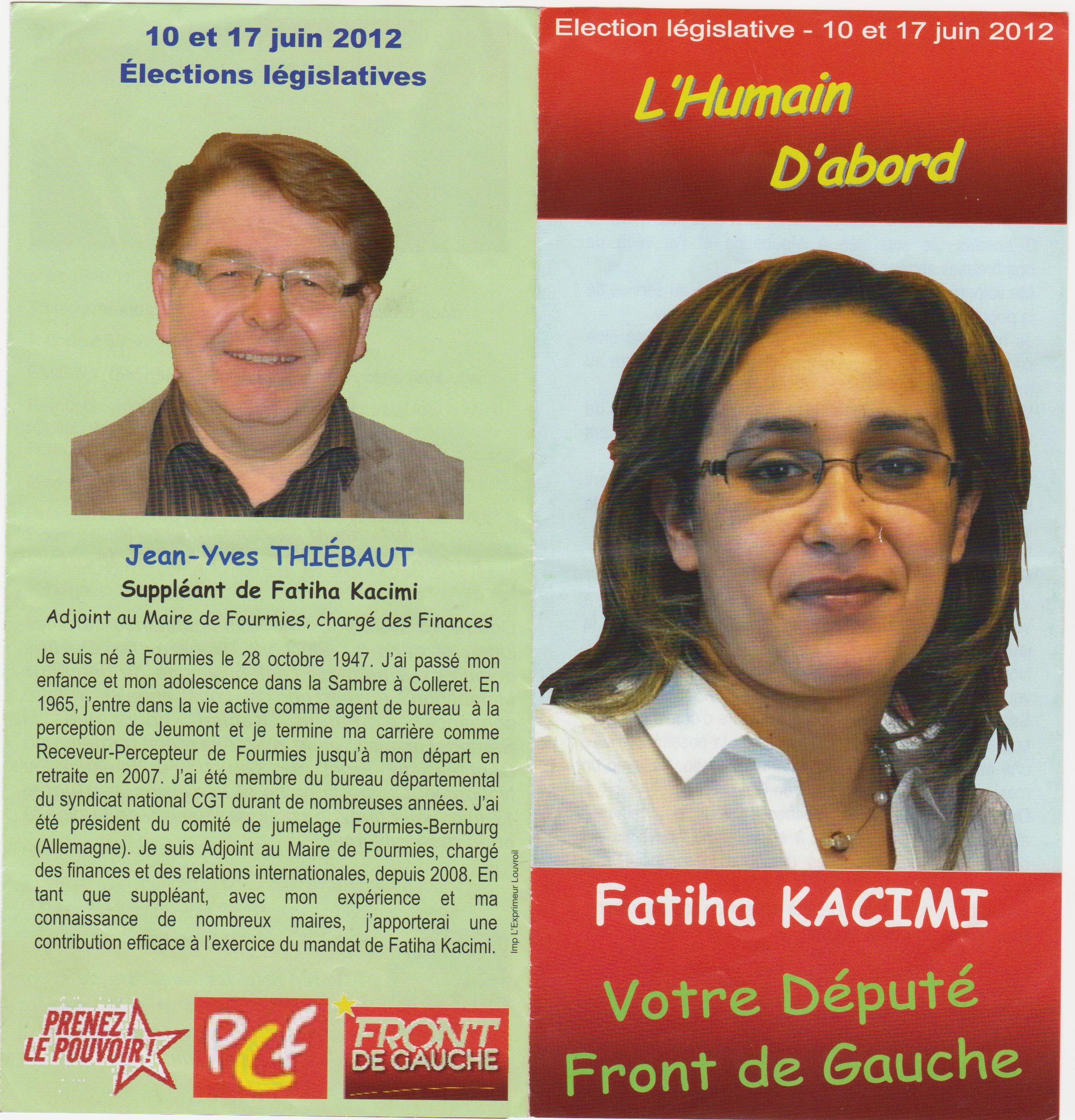 Élections législatives - 3e circonscription du Nord dans Legislatives 2012 001