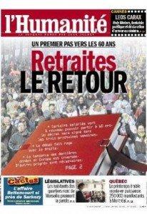 Retraites : Un premier pas vers les 60 ans dans France 2012-05-24une-hq-206x300
