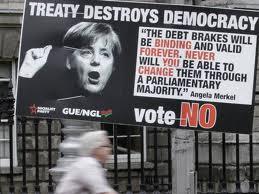 Irlande : référendum sur le pacte budgétaire européen dans Austerite