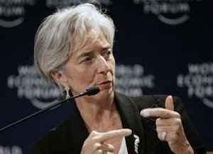 Christine Lagarde ne paye pas d'impôt sur le revenu dans FMI
