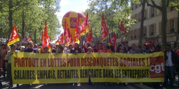 1er Mai : 750 000 manifestants contre l'austérité et Sarkozy dans Emplois cgt1