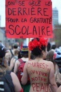 Auky Gonzales explique les raisons de son engagement dans la lutte des étudiants québécois contre l'augmentation des frais de scolarité. dans Canada quebec_0-200x300