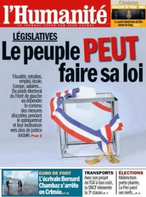 Législatives : le 10 juin, coup de barre à gauche pour garantir les changements attendus dans Front de Gauche 6-6