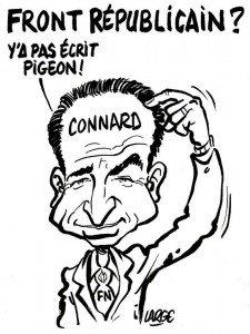 Jean-François Copé contre le front républicain dans Caricature Caricature-JF-Cope-Front-republicain-225x300