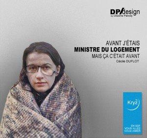 Le changement : Cécile Duflot fuit les mal-logés et envoie les CRS ! dans France DUFLOT_SDF_PUB_KRYS-300x281