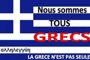 François Hollande apporte son soutien au plan Merkel contre le peuple grec dans F. Hollande grece3-299811-300x200