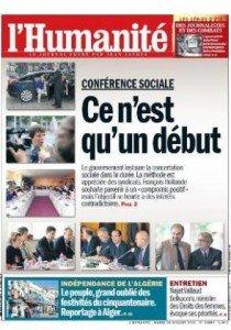 Conférence sociale : En matière de démocratie  sociale, il va falloir beaucoup plus que de la bonne volonté  pour avancer ! dans Assemblee nationale 2012-0710une-hq-210x300