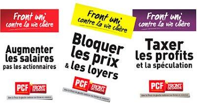 Pierre Laurent : « La confiance se fonde sur les actes » dans France PCF-Affiches-vie-chere