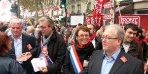 Le Front de Gauche exige un référendum sur le Pacte budgétaire européen dans France austerite_3-300x150