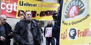 Fralib : Gérard Cazorla (CGT) dénonce les contrevérités du PDG d'Unilever dans France fralib-cgt-300x150