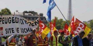 PSA : les syndicats mobilisés contre le plan de restructuration dans ECONOMIE 2012-09-11psa-syndicats-300x150