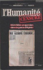 l'Humanité censurée, 1954-1962, un quotidien dans la guerre d'Algérie dans HISTOIRE rosaruscio