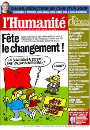 La Fête de l'Humanité 2012, c'est parti !  dans France une-hq_4