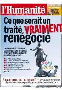 Dans l'Humanité d'aujourd'hui : Ce que serait un traité vraiment renégocié dans André Chassaigne 2012-10-02une-hq-208x300