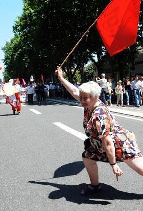 Les retraités dans la rue pour défendre leur pouvoir d'achat et l'accès aux soins dans Politique nationale retraitemanif