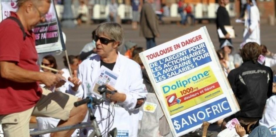 Sanofi : Contrairement aux effets d'annonce de Montebourg, 2.000 à 3.000 emplois sont toujours menacés par la restructuration dans Emplois sanofric1