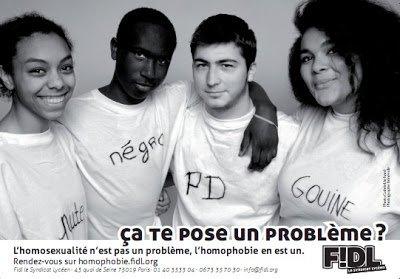 « Serge Dassault, prix de l'homophobe du jour » dans France homophobie