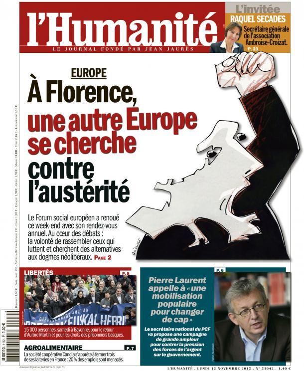 Construire l'Europe des peuples dans EUROPE huma1211