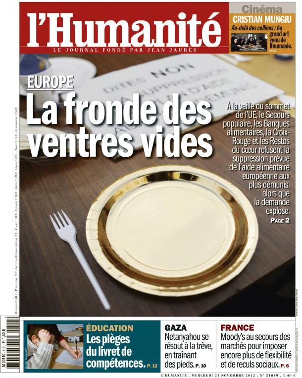 L'intolérable retour de l'Europe de la faim dans Austerite huma2111